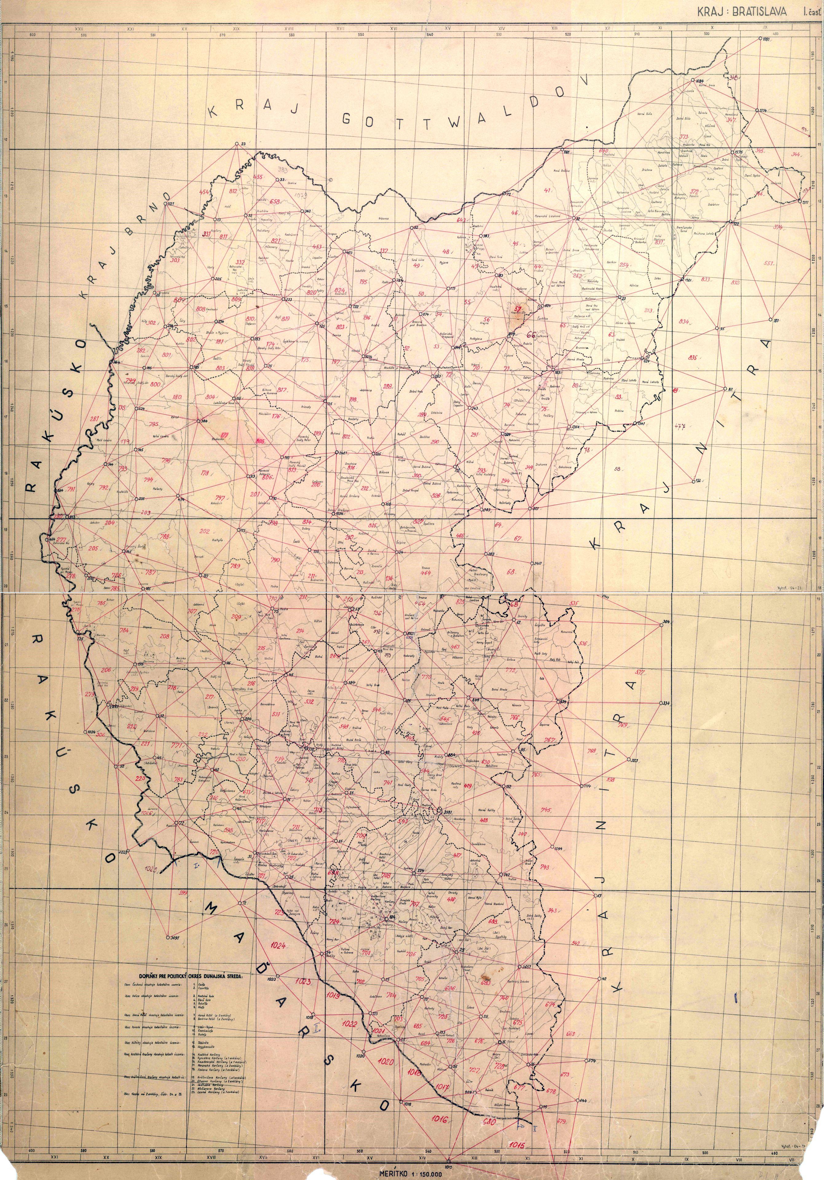 Mapy kataster